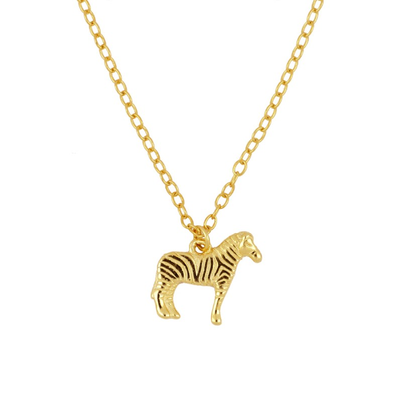 COLLAR ZEBRA GOLD