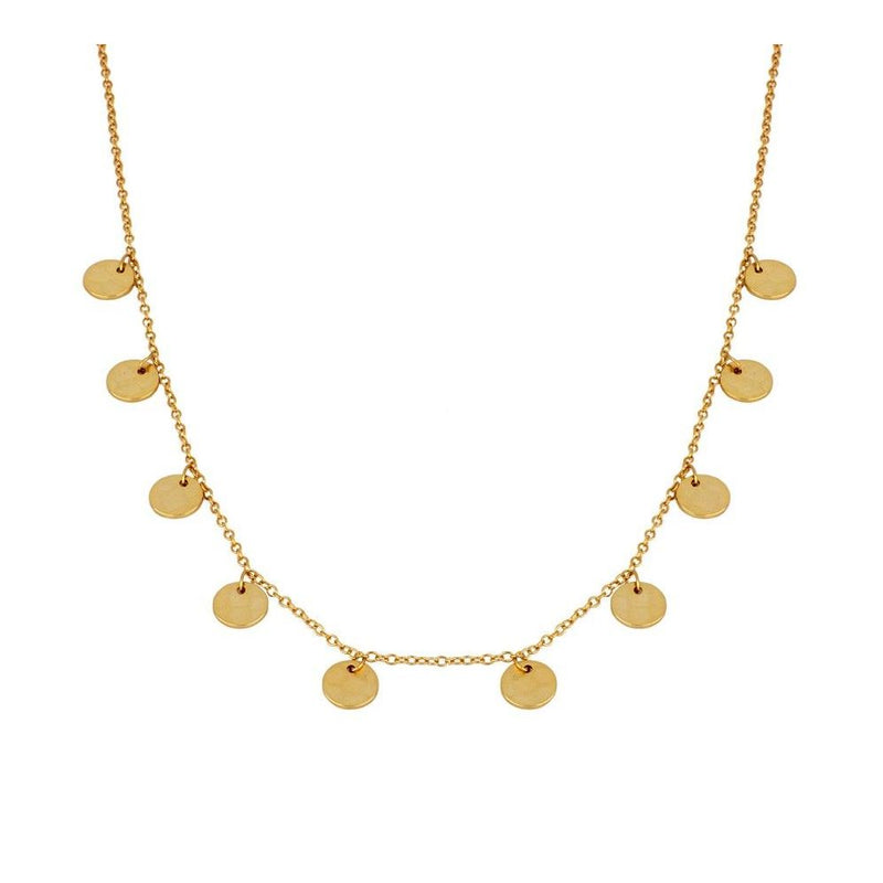 COLLAR MINIMOON GOLD