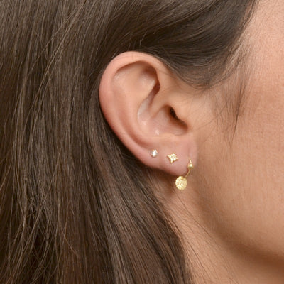 PENDIENTES DAKOTA MINI GOLD