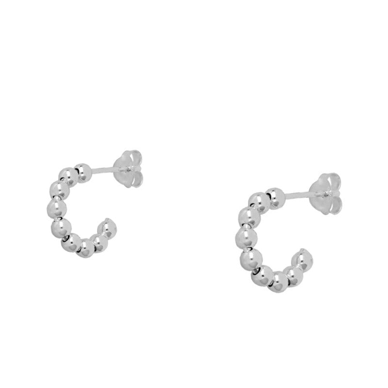 PENDIENTES ESPHERA MEDIUM SILVER