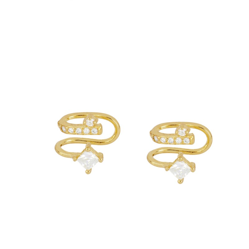 EAR CUFF SERPI GOLD