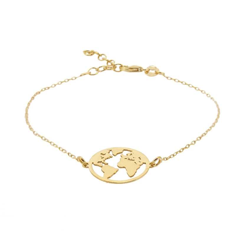 PULSERA MORLD GOLD