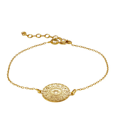 PULSERA HOROSCOPE GOLD