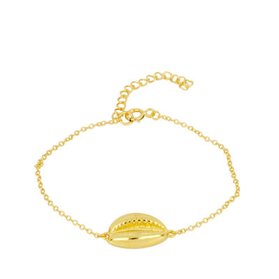PULSERA SHELL GOLD