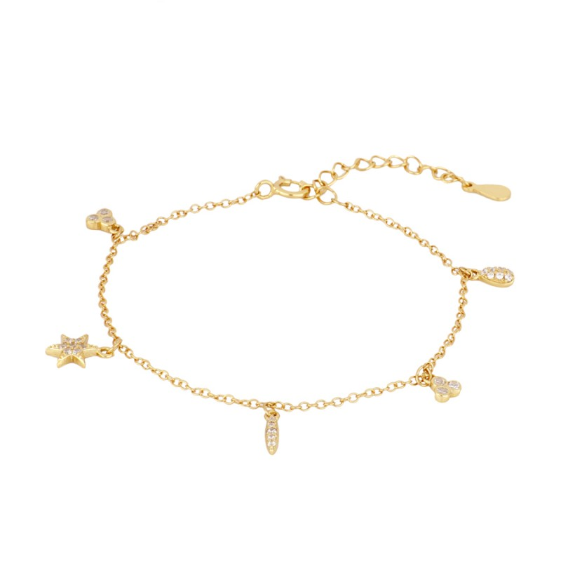 PULSERA EMERY GOLD