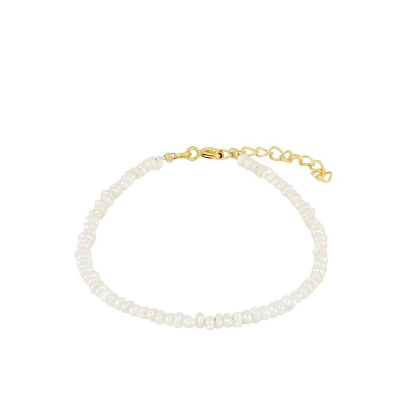 PULSERA PERLA MEDIUM GOLD