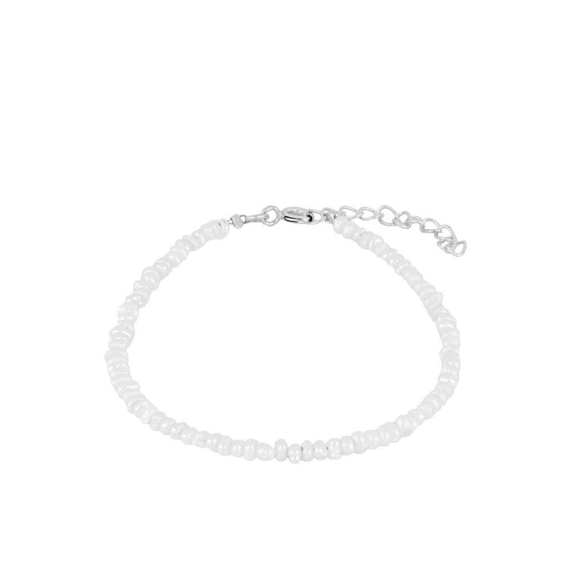 PULSERA PERLA MEDIUM SILVER