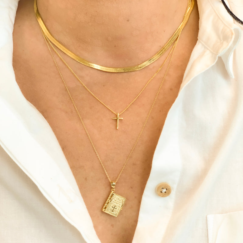 COLLAR BIBLIA GOLD