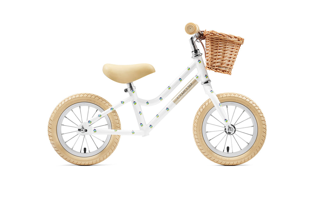 Creme Mia Balance Bike - White Unicorn