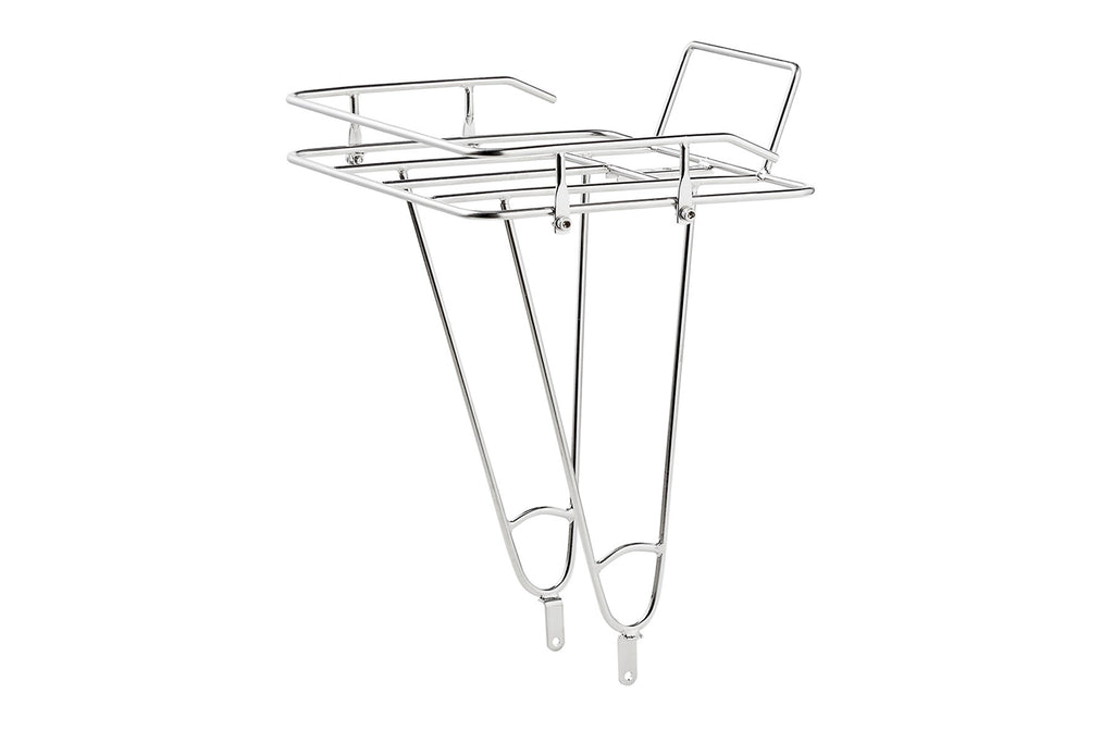 Creme front Tray Rack: Stainless