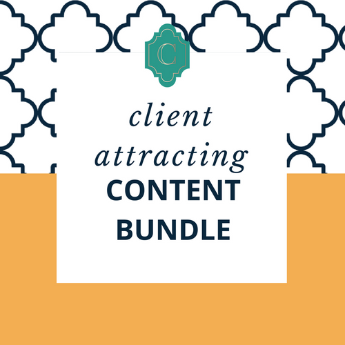 Client Attracting Content Bundle