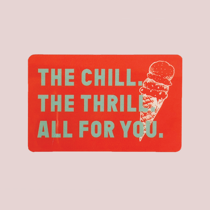 Gift Card - The Chill