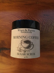 Morning Coffee Sugar Scrub