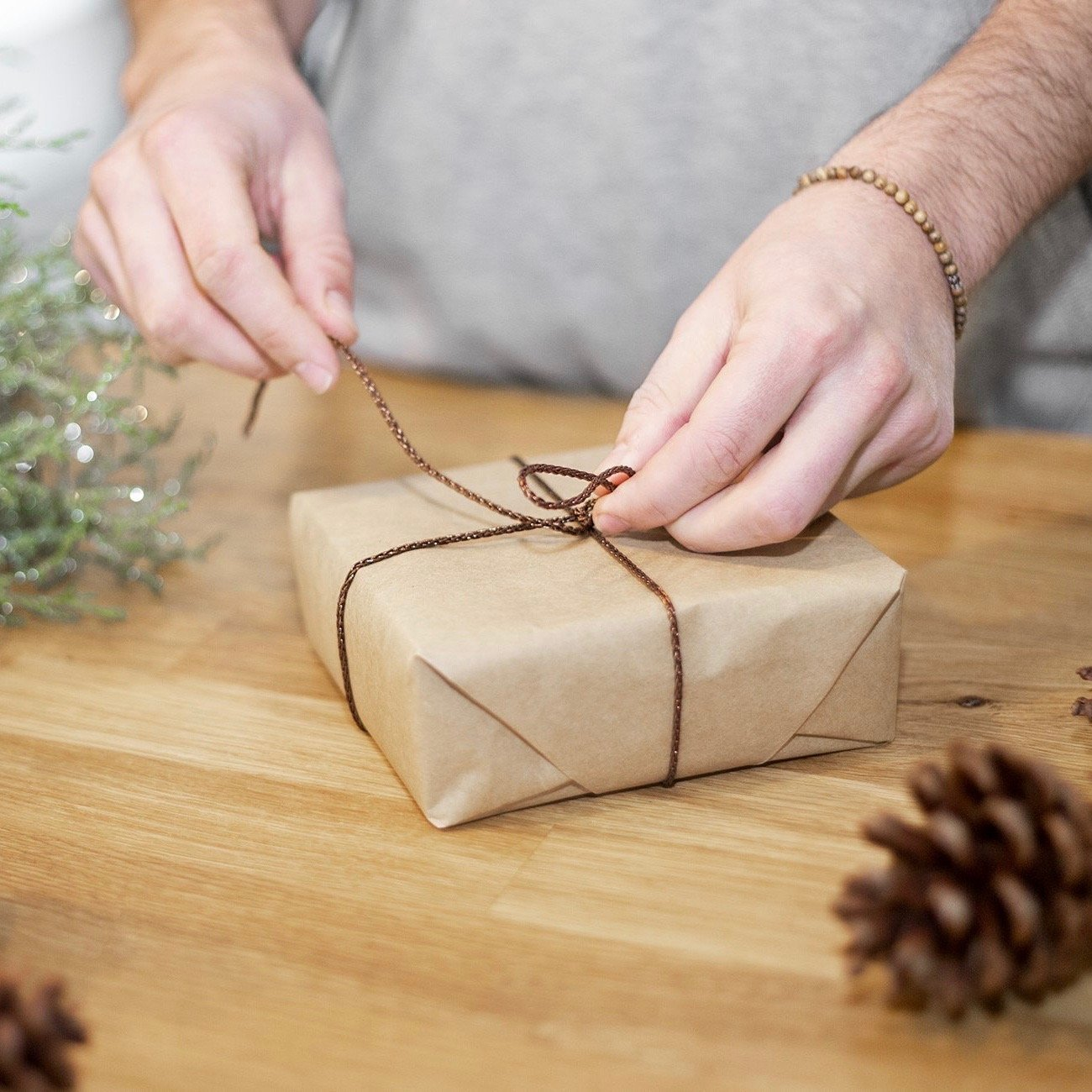 Go Green Gift Wrapping!
