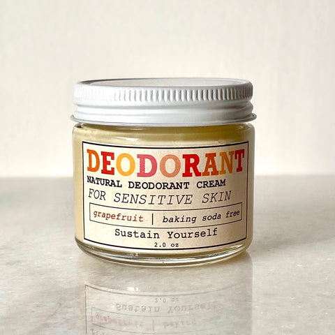 Sustain Yourself Natural Deodorant