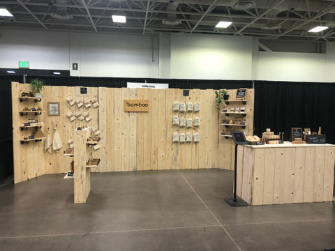 Bamboo Switch Sustainable Eco Friendly Show Booth