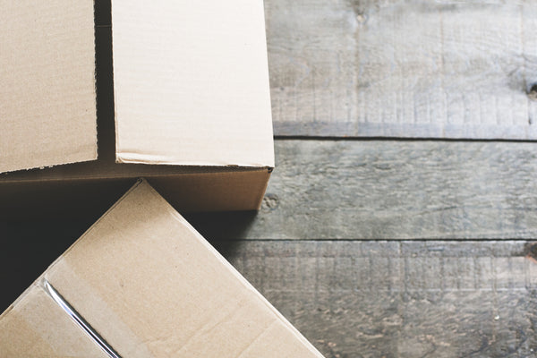 Reuse your shipping box to curb adding to the waste