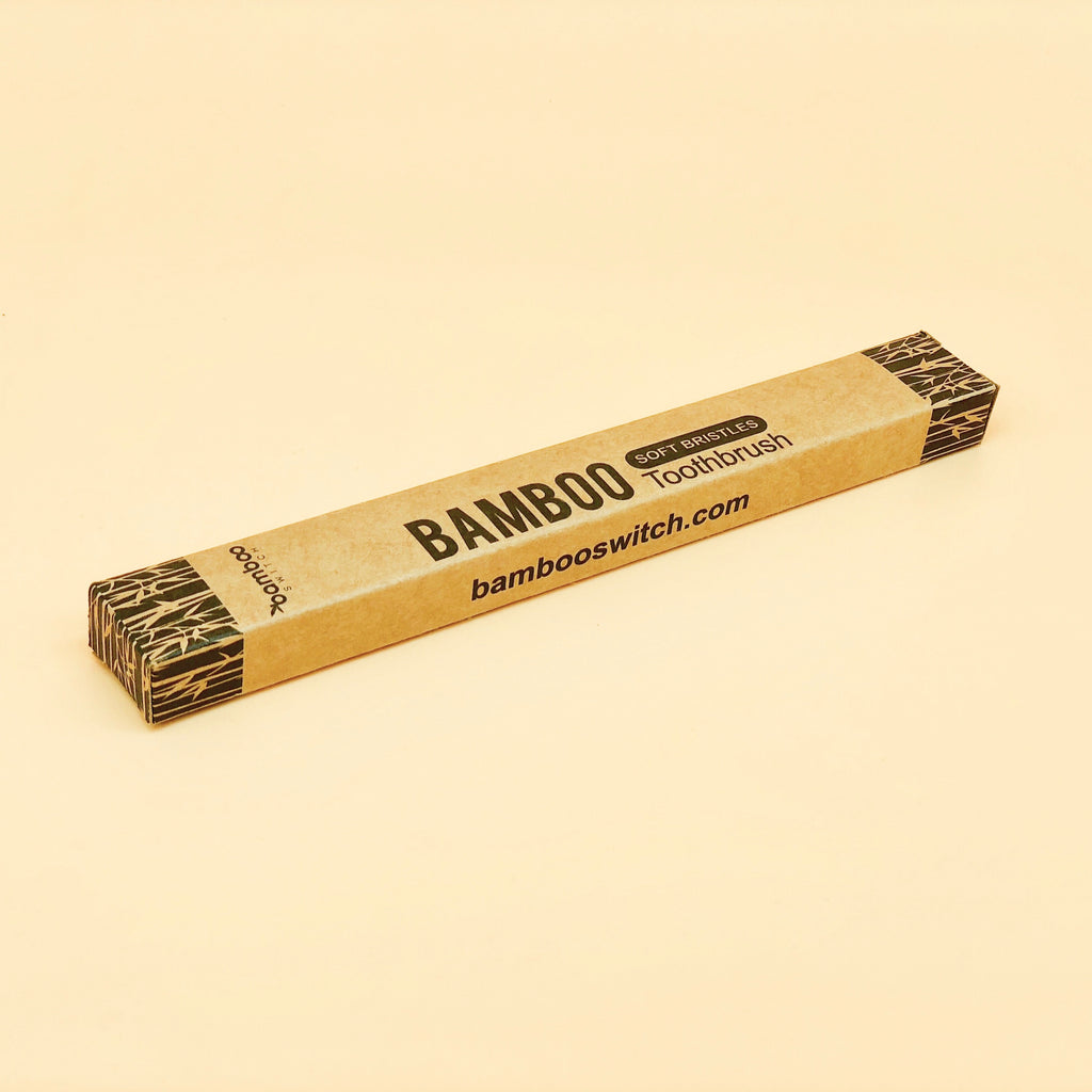 Sustainable Eco friendly Bamboo toothbrush packaging