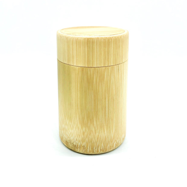 Bamboo Cotton Ear Bud Holder | Incl. 100 Ct 1