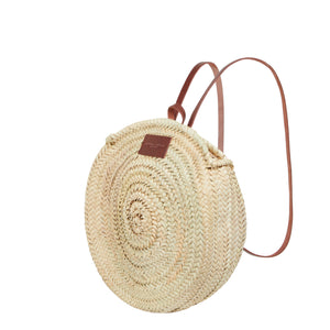 Basket Bag Backpack by Henrietta Spencer