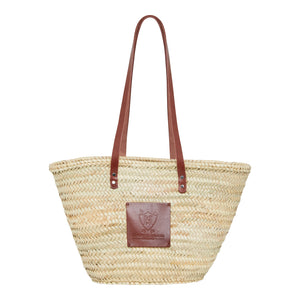 Straw Basket Bag | Henrietta Spencer | Woven Basket Bag
