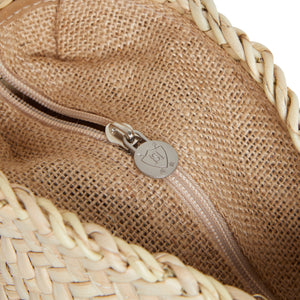 The Wessex (Walnut) Leather Clasp Basket Bag