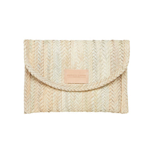 Clutch woven bag from Henrietta Spencer