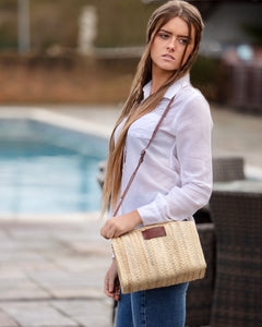 The Henley (Walnut) Unique Basket Bag
