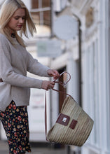 Straw basket bag, A new style for 2020 by Henrietta Spencer