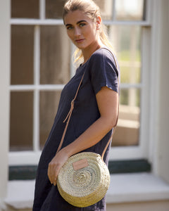 The Framlingham (Nude) Small Round Basket Bag