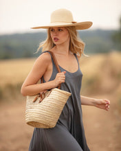 rattan basket bag | Henrietta Spencer
