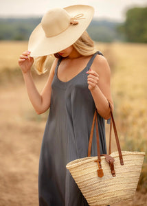 wicker bag | Henrietta Spencer