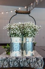 Shabby-Chic Double Vase