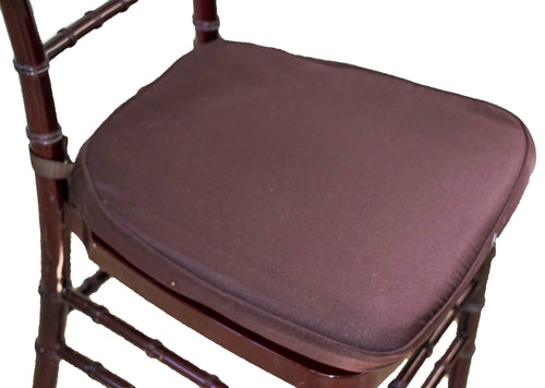 Brown Chair Pads