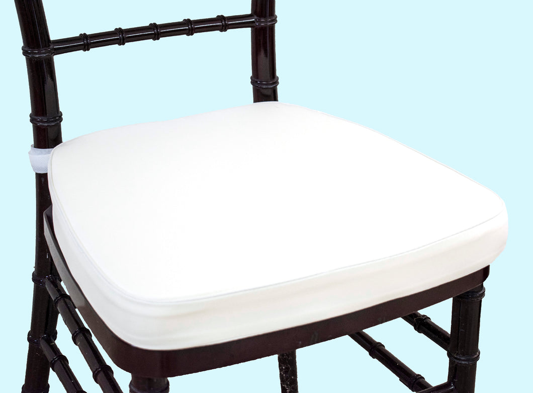 White Chair Pads