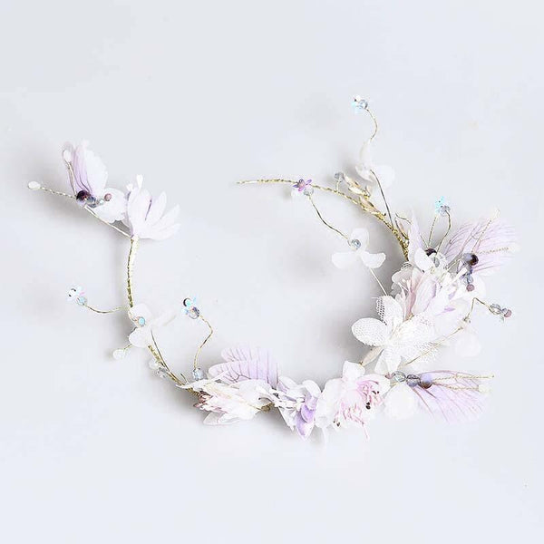 Beautiful Lavender Wedding Headpiece, Wedding Accessories, VB0594