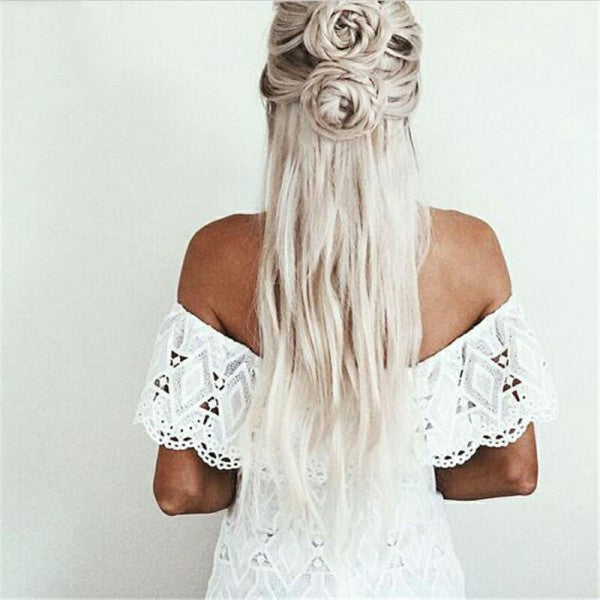 Tight Off Shoulder White Lace Short Cheap Homecoming Dresses Qb0180