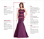 Elegant Halter-Strap Burgundy Velvet A-line Long Cheap Bridesmaid Dresses, BDS0084