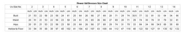 Popular Round Neck Ivory Long Cheap Flower Girl Dresses With Handmade Flowers, FGS0009