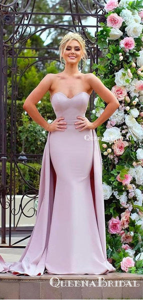 Mismatched Lilac Mermaid Long Cheap Charming Bridesmaid Dresses Online, BDS0063