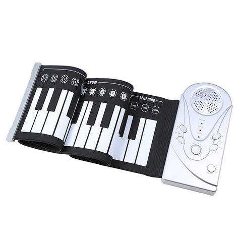 Image of Portable Roll Up Electronic Piano - Nick's Music Store