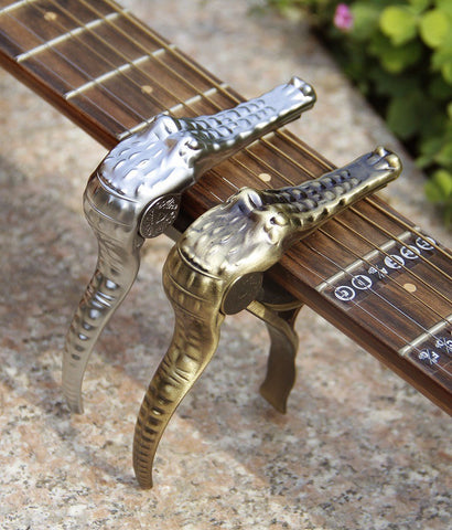 Image of Crocodile Guitar Capo Deluxe