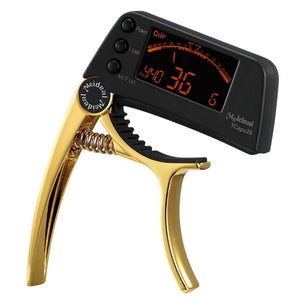 Guitar Capo Tuner Limited Gold