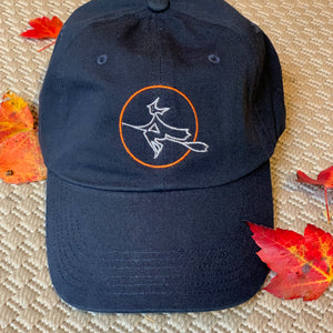 Moon Witch Navy Baseball Hat