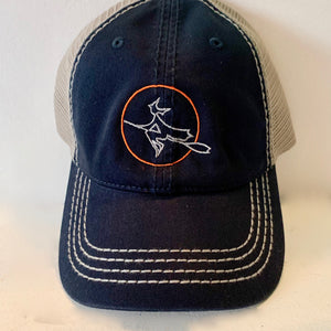 Moon Witch Navy/Gray Baseball Hat