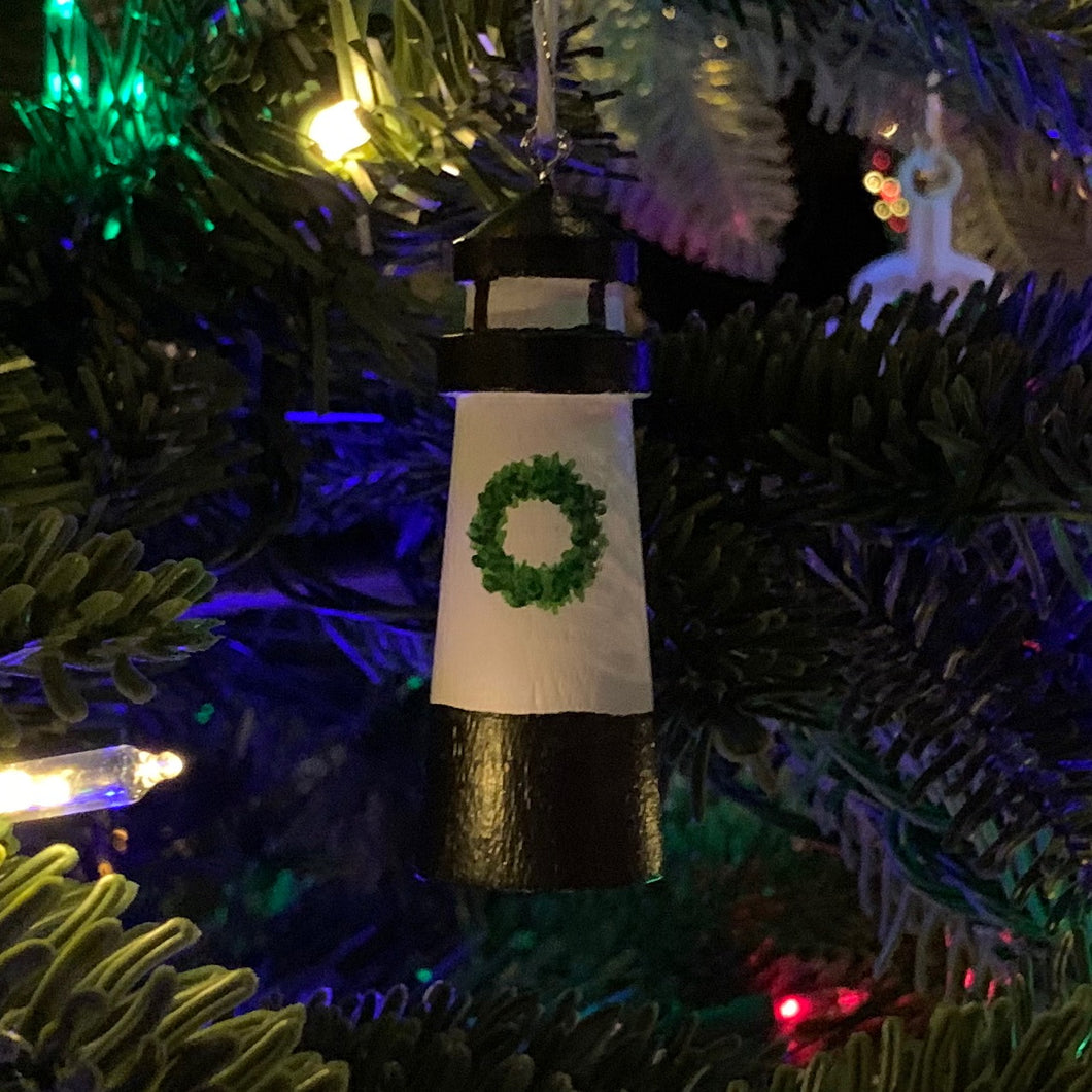 Fort Pickering Lighthouse Christmas Ornament
