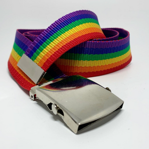 Rainbow Slide Buckle Belt