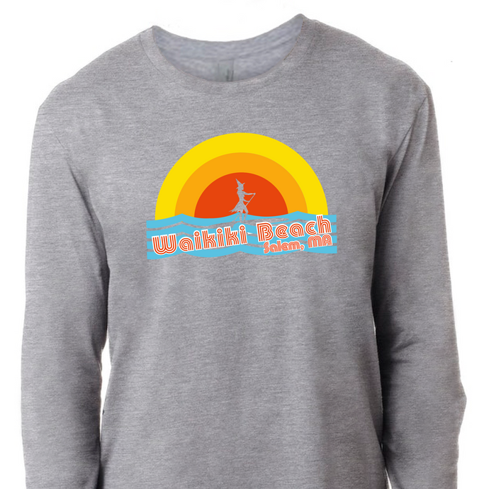 Waikiki Beach Salem Long Sleeve Tee
