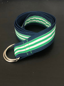 District D-Ring Belt: Mint/Green Taffy