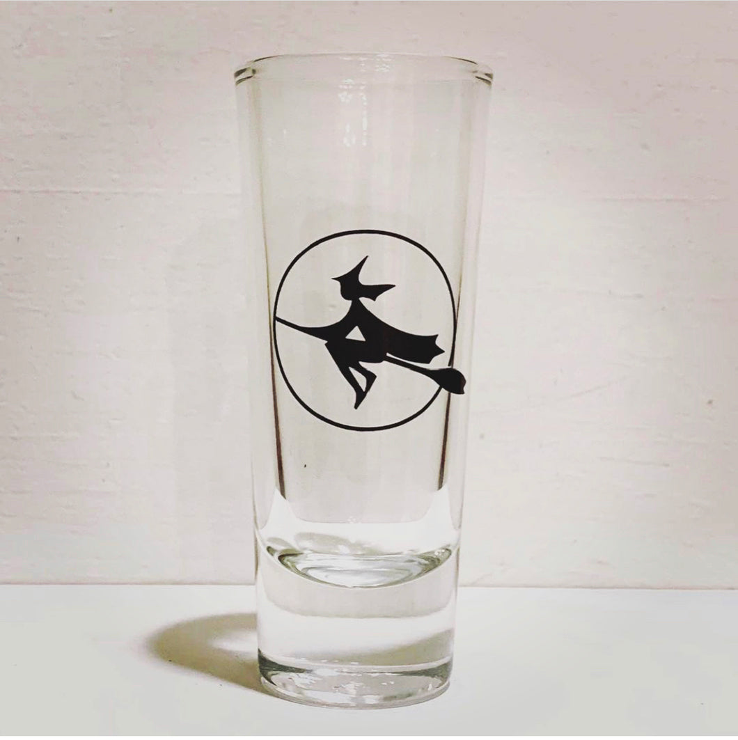 Moon Witch Shot Glass